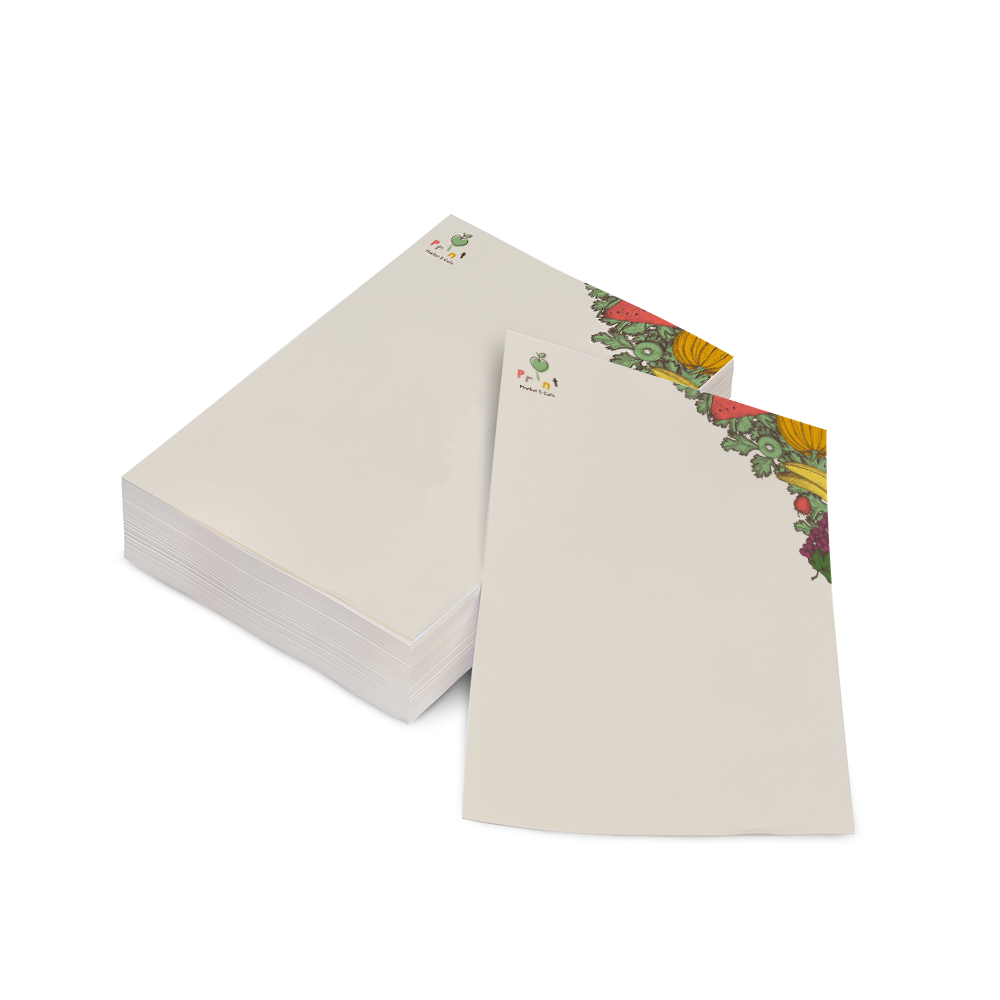 bijpassend briefpapier drukken