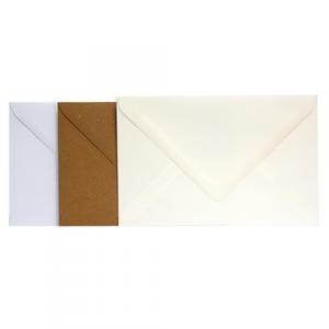 bijpassende wenskaart enveloppen