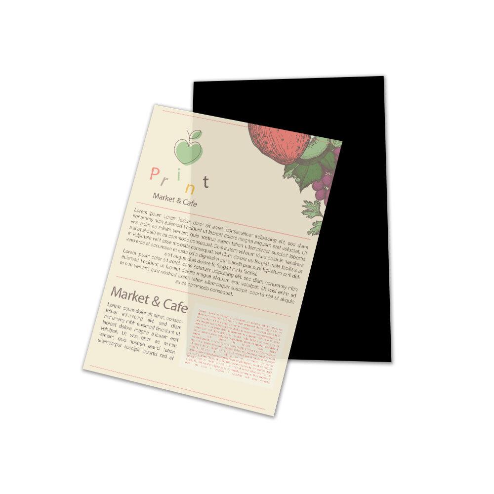 Transparant papier bedrukken