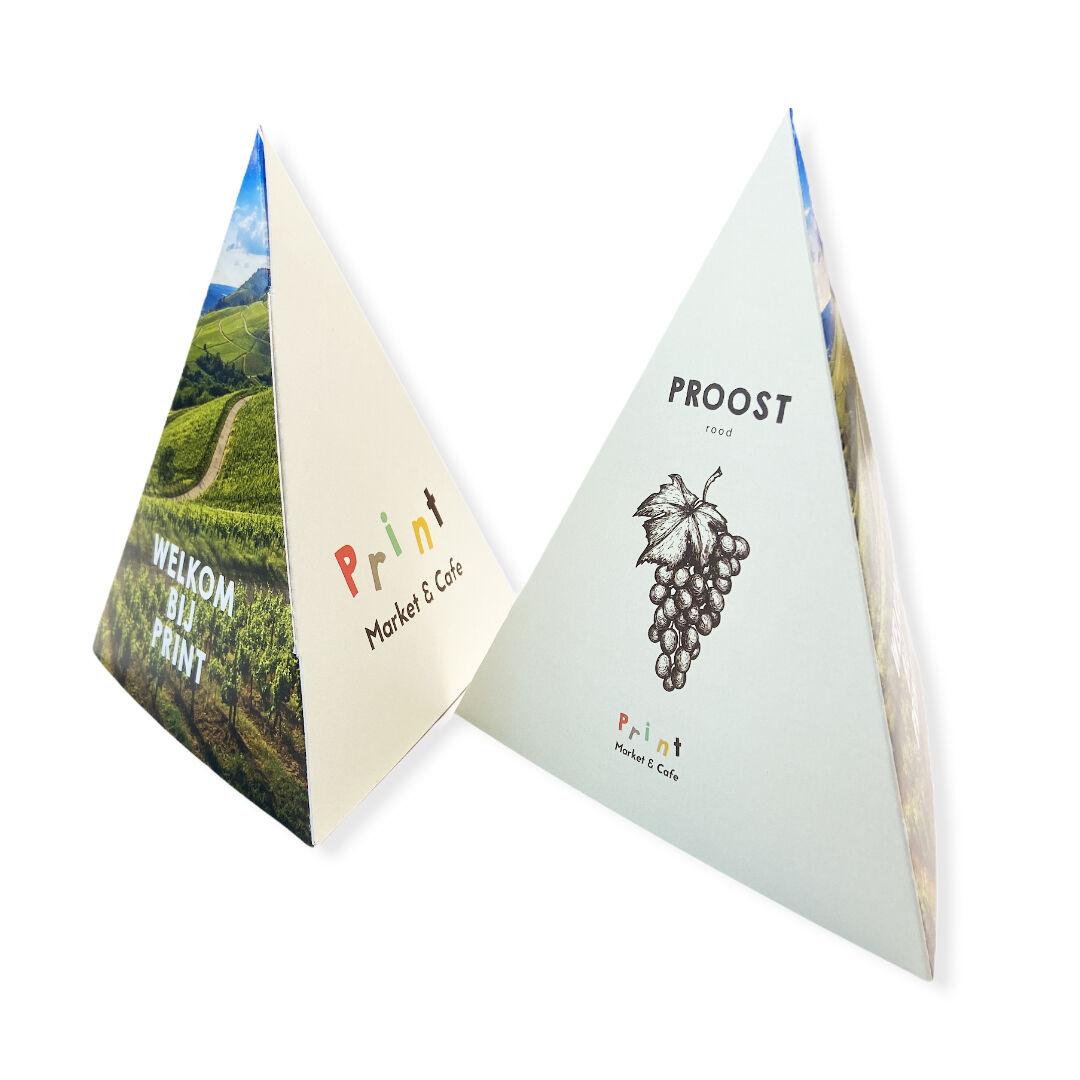 Piramide kaartjes