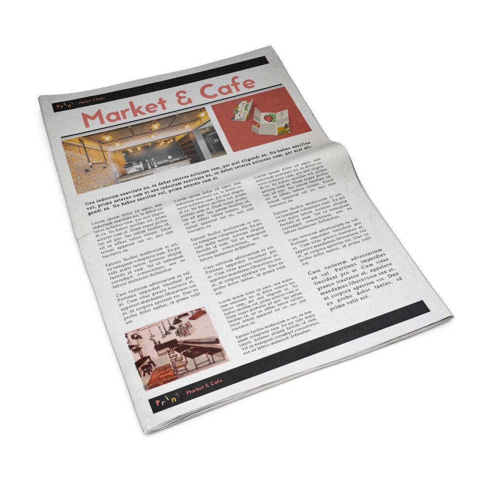 Berliner krant drukken