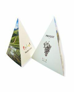 Piramide kaarten drukken