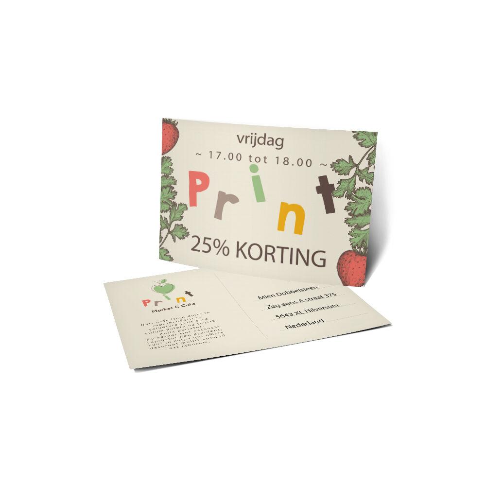 Direct mailing kaarten