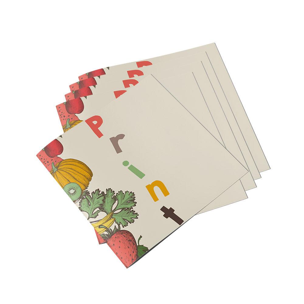 Brochures (geniet) - vanaf 1000 stuks