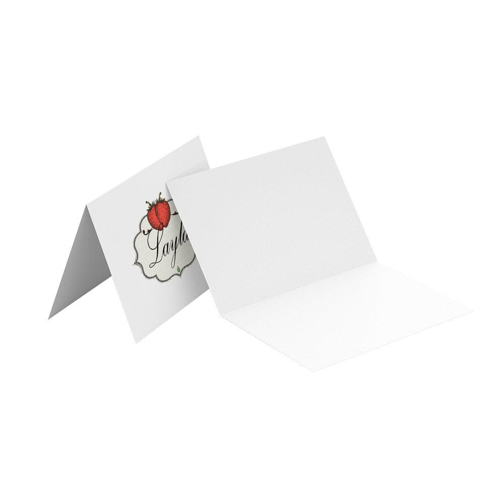 Tafelkaartjes drukken